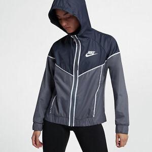 270735c4a8c8 Image is loading Nike-Sportswear-Windrunner-Women-039-s-Jacket-Plus-