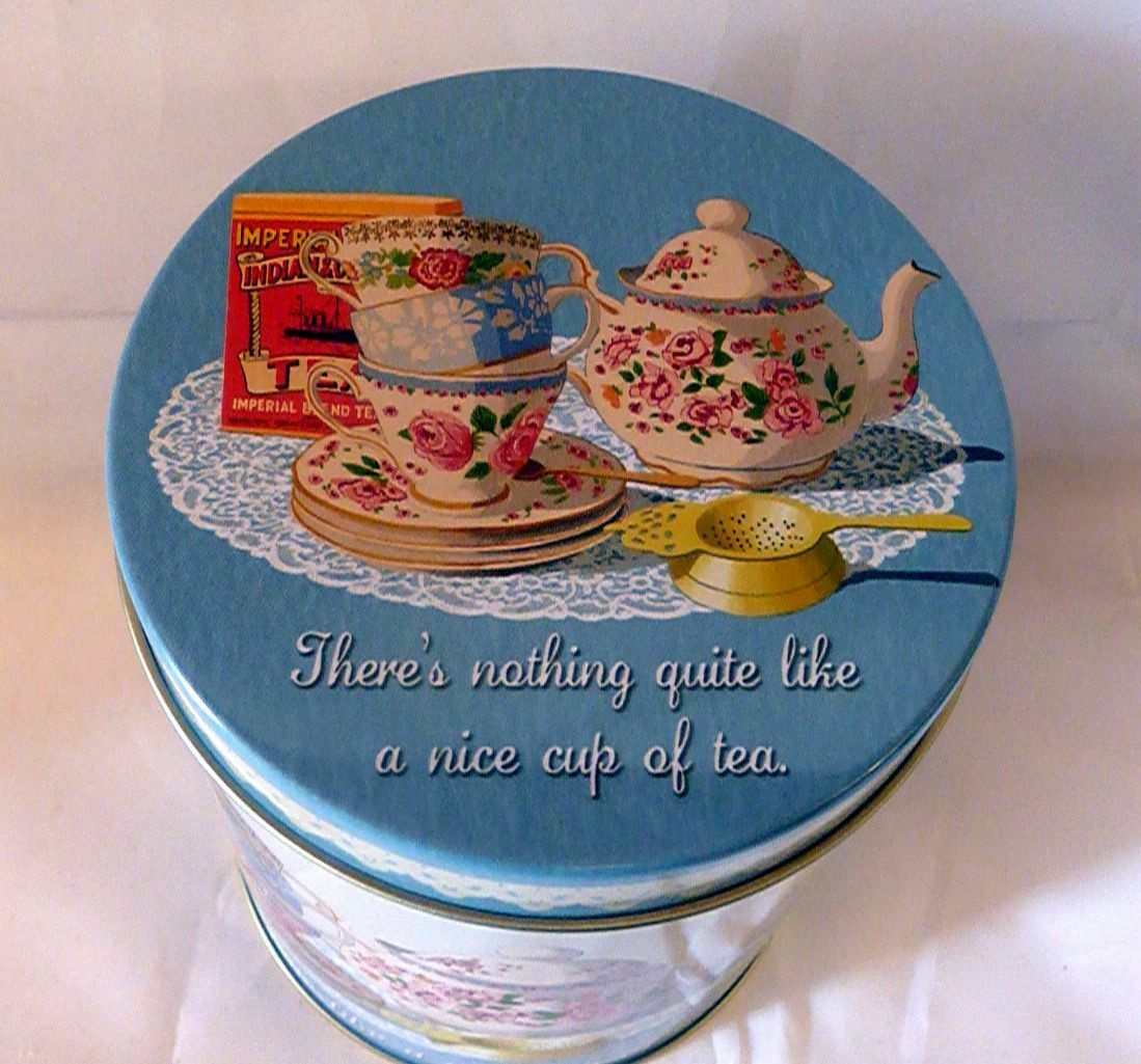 Martin Wiscombe Nice Cup of Tea Store Tin Assorted