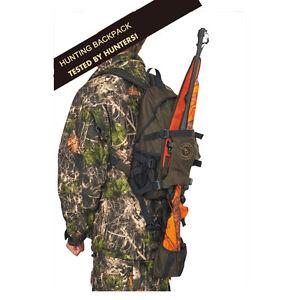 Tourbon-Hunting-Backpack-Gun-Slip-Molle-Bag-Daypack-Rifle-Shotgun-Holder-Outdoor