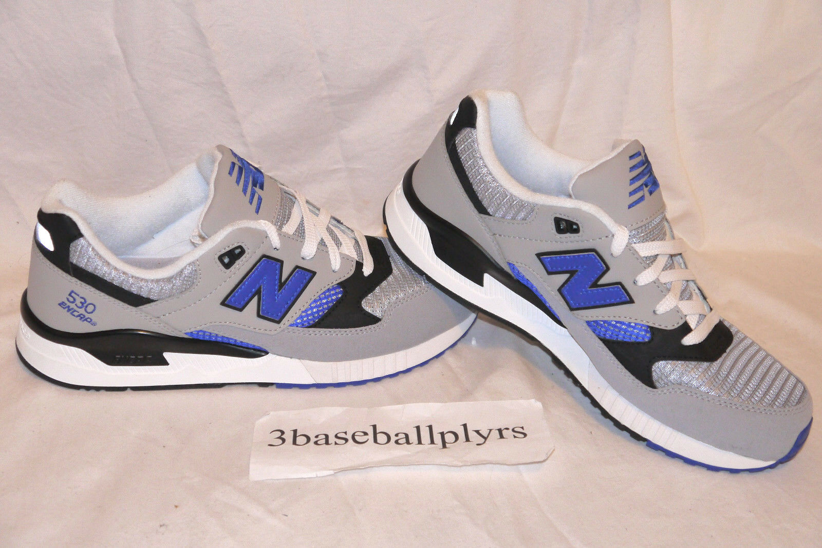 New Balance 530 90's Running Pack - CHOOSE YOUR SIZE - M530GB Grey bluee Black