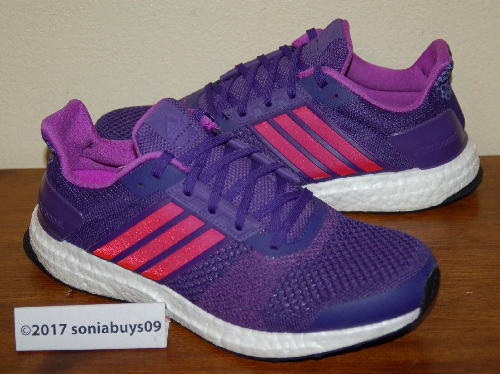 Adidas Women's Ultra Boost ST  Running shoes, AQ4430, Unity Purple, US Sizes  authentic online