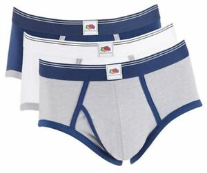 0df6e4b015dd Fruit of The Loom 3-Pack Men's Limited Edition Mid-Rise Briefs White ...