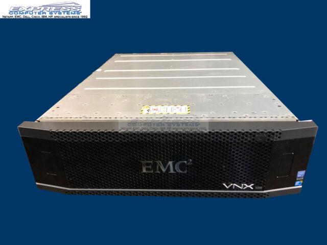 EMC VNX5800 BLOCK OE SAN Storage w/VAULT PACK + 20x V4-2S10-012 1.2TB 10GBE 8GB