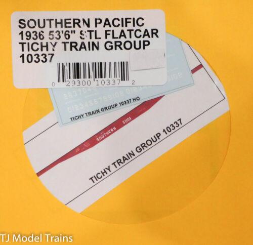 "1936 Decal Tichy Train Group HO #10337 Southern Pacific 53/'6/"" Stl Flatcar"