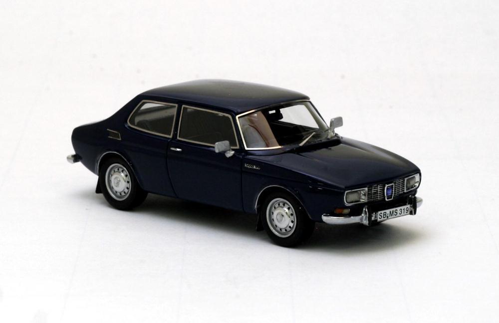Saab 99 Saloon bluee 1971 1 43 NEO