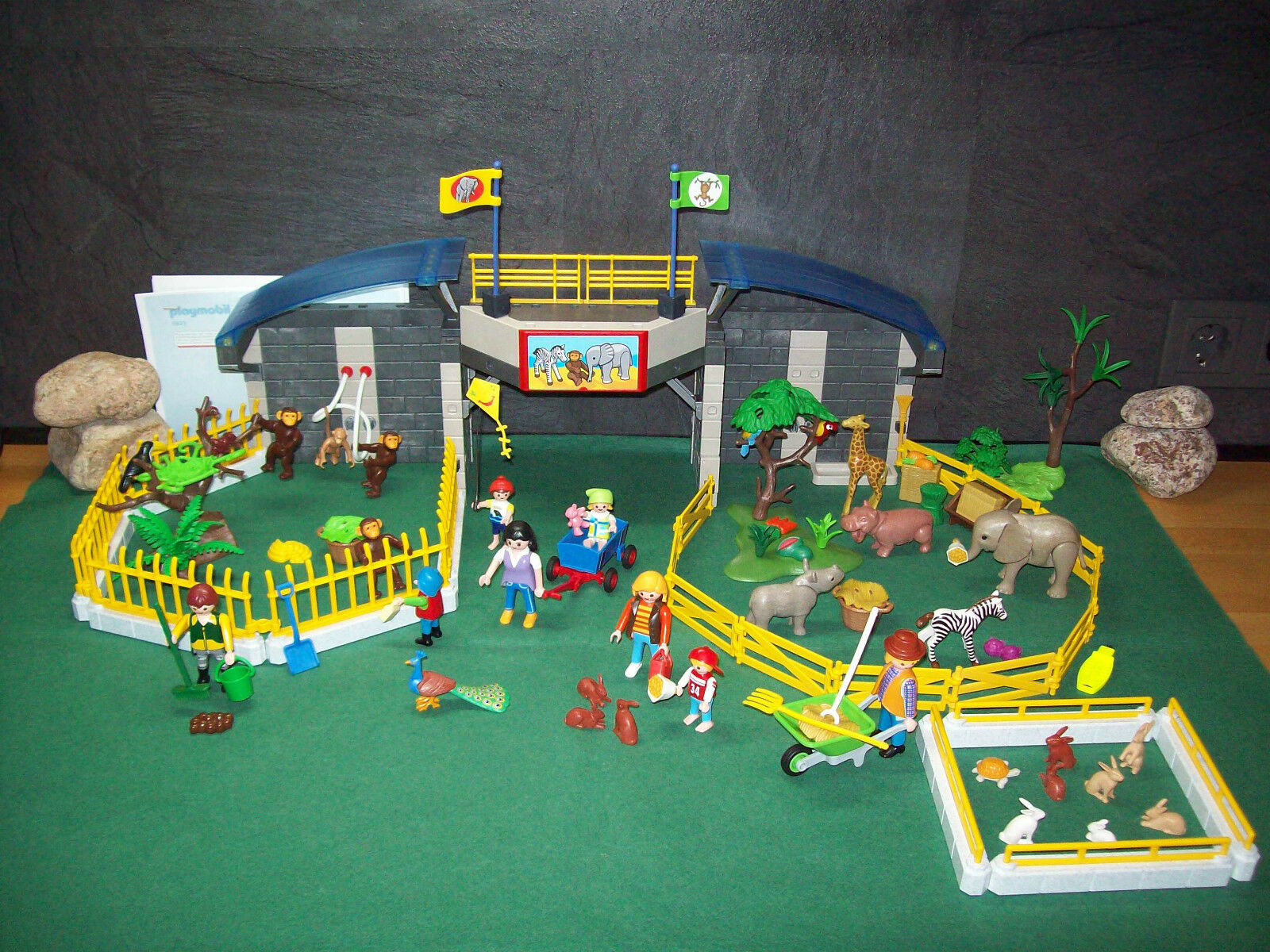 Playmobil Besuch im Tierpark ähnlich 5921 mehr Zubehör ausgedr. BA ohne OVP