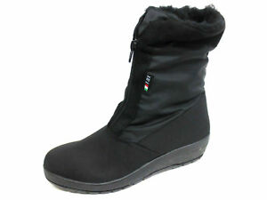 7 5 4 6 Black Ankle e T Textile tex Taglie r40b kett 2220 Ladies Boot 3 qwaTaFORfv