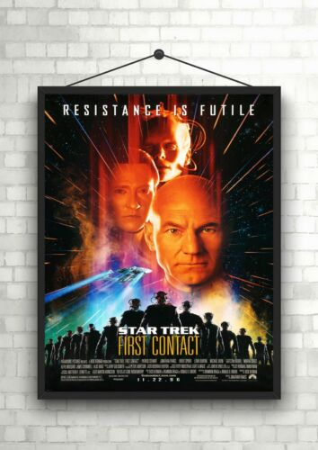 Star Trek First Contact Classic Large Movie Poster Print Maxi A1 A2 A3 A4