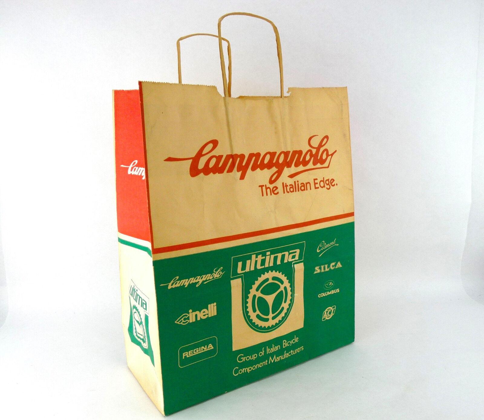 Campagnolo Ultima group Swag Bag Trade Show vintage bike Cinelli Regina Nisi B