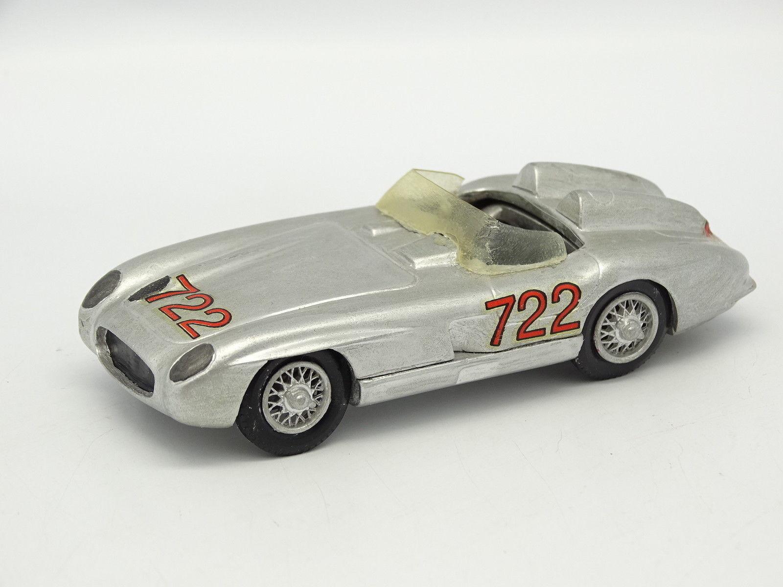 John Day Kit Montado Montado Montado Metal 1 43 - Mercedes 300 SLR Mille Miglia 1955 2ba1f4