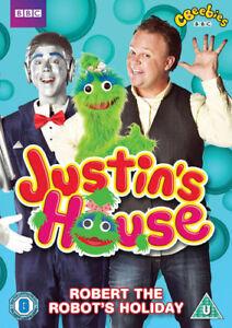 Justin-039-s-House-Robert-the-Robot-039-s-Holiday-DVD-2015-Steve-Kynam-cert-U