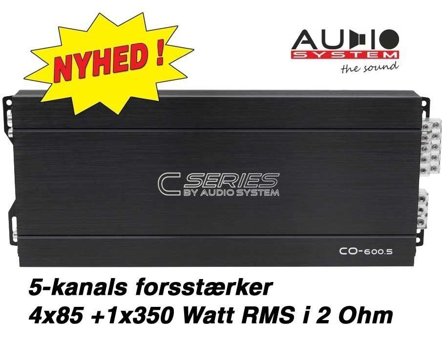 Audio System CO-600.5, Forstærker