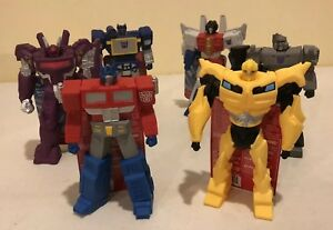 Transformers Titans G1 Lot De 6 Figurines Vinyle Walmart Exclusive Hasbro