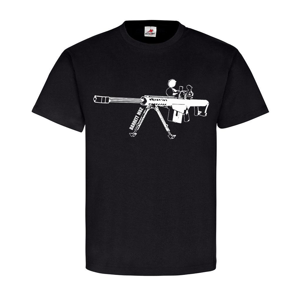 Anti-materiel rifle Gewehr Cal50 Barett M82 light fifty G82 T-Shirt  17595   Ausgezeichnet    Merkwürdige Form    Klein und fein