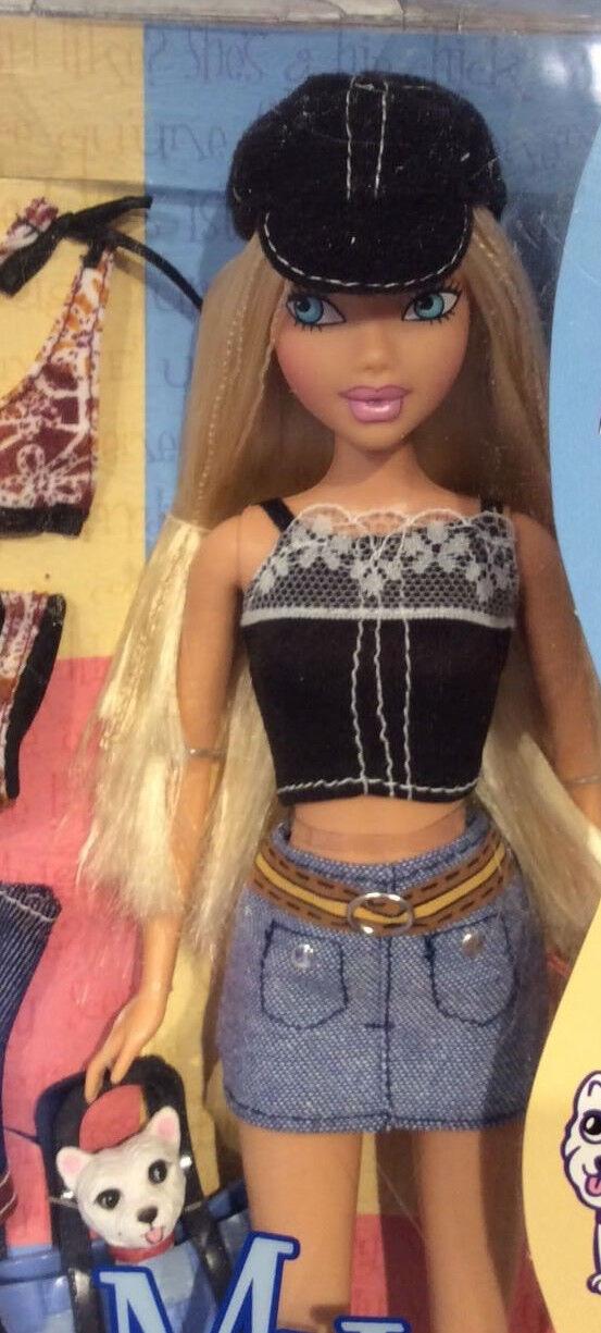 My Scene doll Wave 2 Barbie doll with dog NRFB