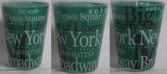 New York Attractions Shot Glass #2605