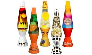 Original The Beatles Lava Lamp - 14.5 inch / 36cm Tall, Multi ...