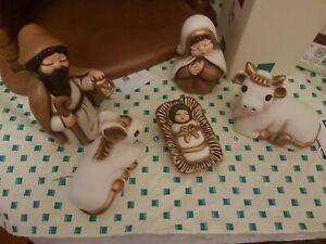 Meravigliosa Sagra Famiglia con bue e asinello presepe Giubileo  della Thun