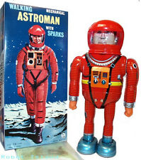 Astroman Robot Tin Toy Japan Windup Osaka Tin Toy