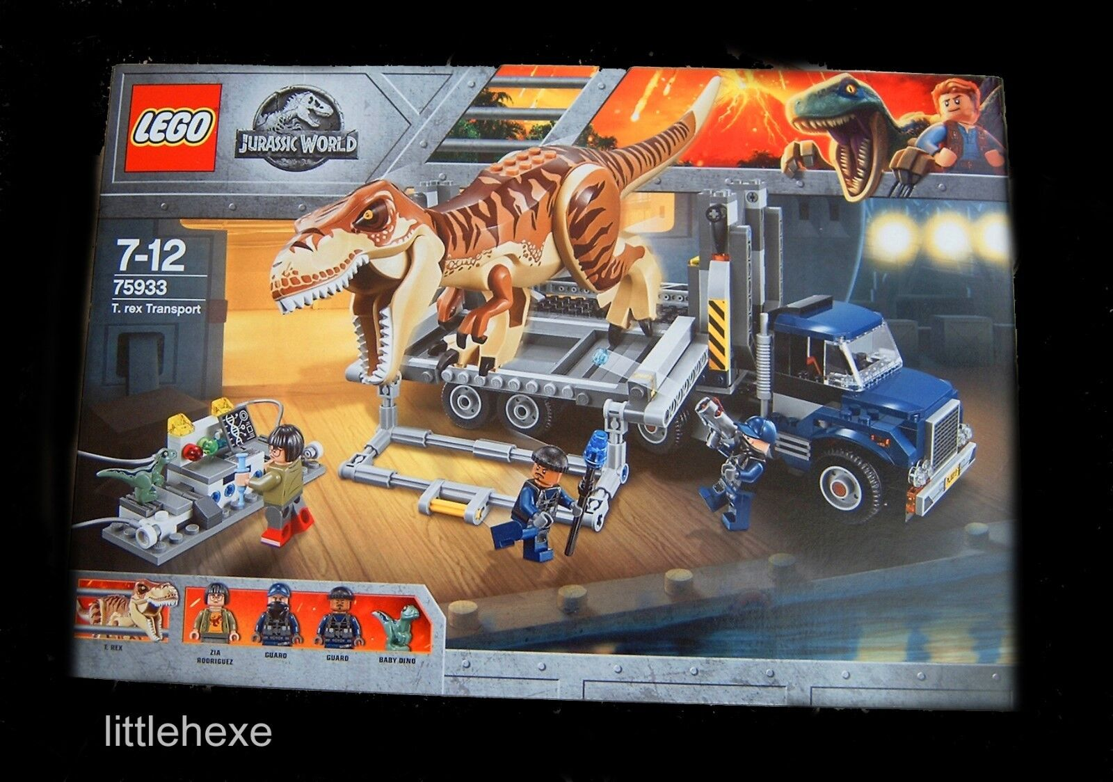 Lego Jurassic World 75933 T-Rex transport NOUVEAU Neuf dans sa boîte