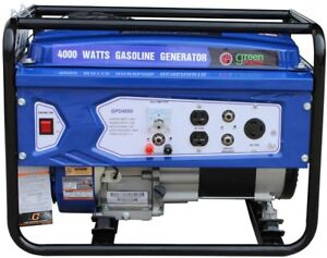 Details about Portable Generator 4000/3000-Watt Gasoline Powered with 208cc  7HP LCT Engine