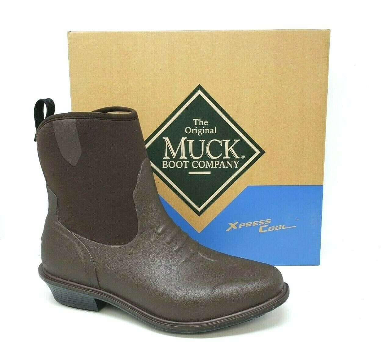 New  Women's MUCK Riding Boot JAW-900 - Brown W73 m