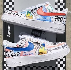 05239ef8c56c DS VLONE x Himumimdead x Nike Air Force I 1 Low Size 8.5 Supreme ...
