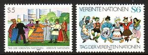 """UN Vienna - 1987 UN day Mi. 75-76 MNH - Enschede, Nederland - UN Vienna - 1987 UN day Mi. 75-76 MNH Click the button below to view more UN lots from our extensive offerings. After clicking select """"UN"""" in the blue side-bar on the left. Our lots start at just €0,25 Combine up to 10 lots for sin - Enschede, Nederland"""