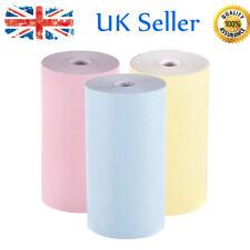 3 Rolls Thermal Paper Roll 57*30mm Receipt Printing For Photo Mini Printer B8U5