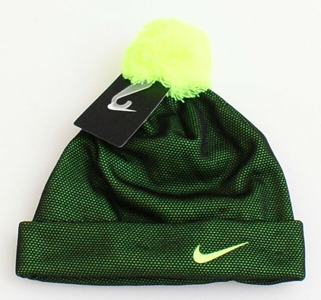 Buy Nike Youth Black Volt Hat With Florescent Green Size 8 20 online ... 1e5e5257348f