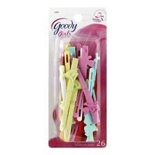 Goody Girls Hair Barrettes, Assorted Colors 26 ea