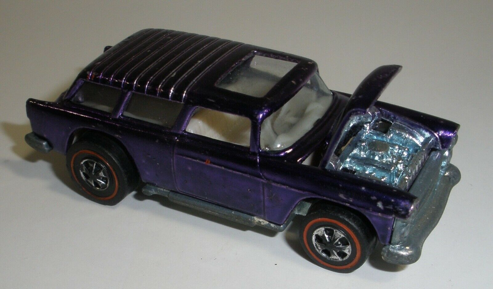 Hot Wheels rojoline Personalizado Clásico Nomad púrpura