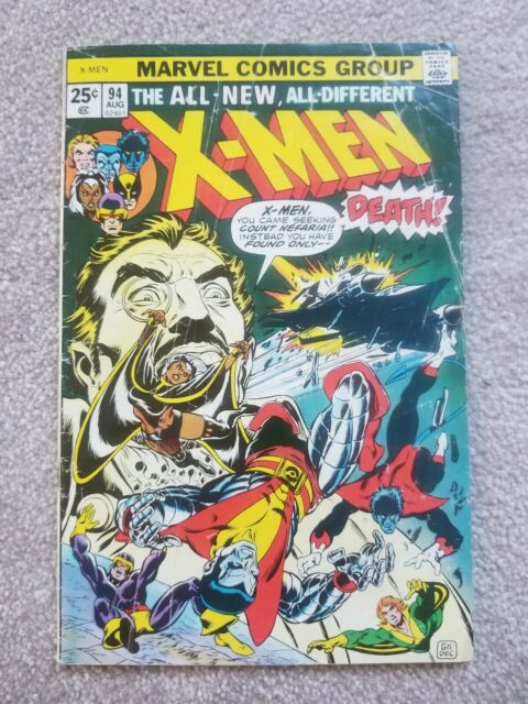 The X Men 94 Aug 1975 Marvel For Sale Online Ebay