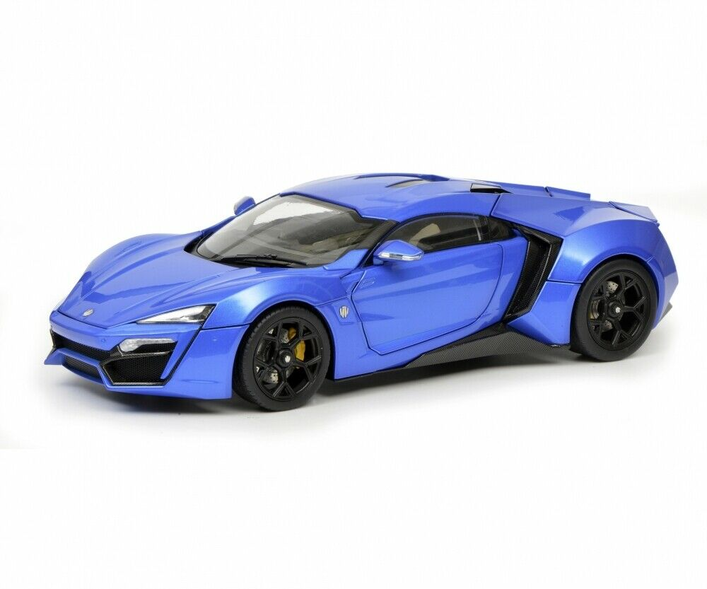Schuco 1 18 W Motor Fenyr Supersport after Lykan Blau 450042600
