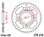 Honda-CG125-Heavy-Duty-Chain-and-Sprocket-Kit-039-06-09-Models thumbnail 4