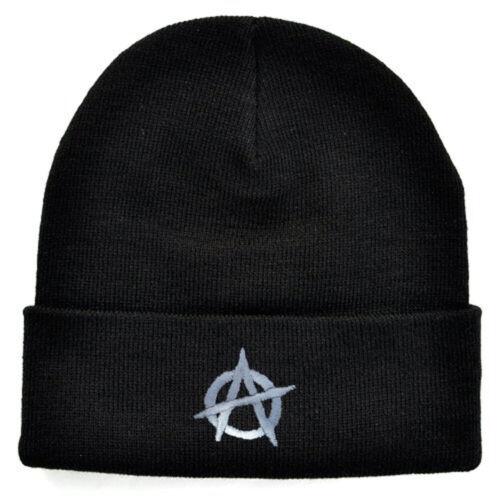 Anarchy brodé tricoté Beanie Ski Chapeau