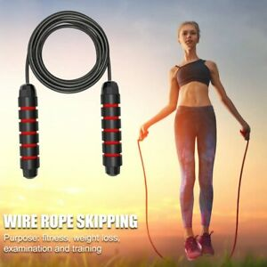 Weighted-Skipping-Rope-jump-Rope-with-Foam-Handles-for-Fitness-amp-Exercises