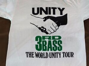 90-039-s-Deadstock-3rd-Bass-MC-Serch-UNITY-WORLD-TOUR-T-Shirts-Vintage