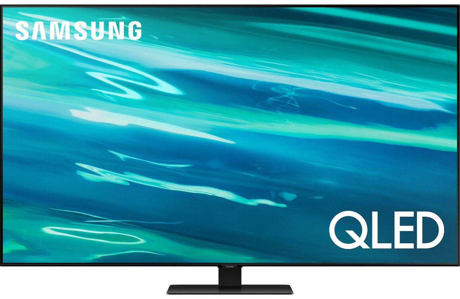 Samsung QN55Q80AAFXZA 55 4K Smart QLED LED TV QN55Q80A 10 Bit 2021. Available Now for 1249.95
