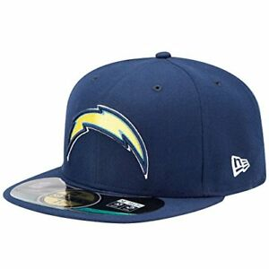 637cb22a143 New Era 59 Fifty NFL Cap San Diego Chargers Classic Wool Fitted Hat ...