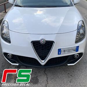 Alfa-Romeo-Giulietta-Decal-paraurti-inserti-baffi-carbonlook-sticker-tuning