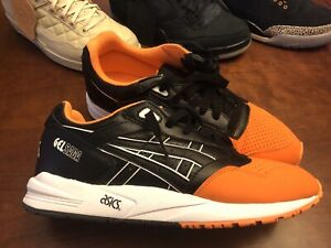 Details about ASICS GEL Saga Trail Running Shoes Orange Mens Size 10.5 Black and Orange