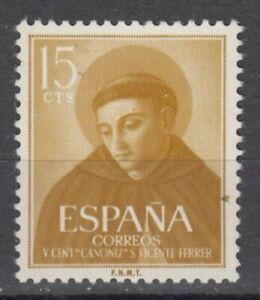 ESPANA-1955-MNH-NUEVO-SIN-FIJASELLOS-SPAIN-EDIFIL-1183-VICENTE-FERRER