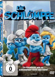 DVD-DIE-SCHLUMPFE-1-Der-1-Kinofilm-NEU-OVP-lt