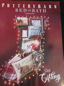 Pottery Barn Bed And Bath Catalog Holiday 2017 Get Gifting