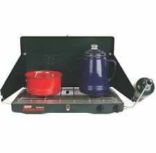 Two Burner Propane Gas Stove Portable RV Camping Indoor Outdoor 20,000 BTU Best