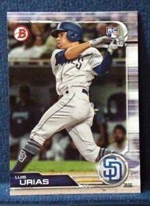 2019-Bowman-25-Luis-Urias-RC-San-Diego-Padres-Rookie