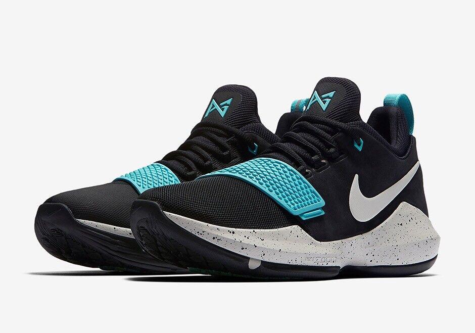 Nike PG 878627-002 1 Paul George uno 878627-002 PG luz negra Bone Light Aqua DS reducción de precio 8127db