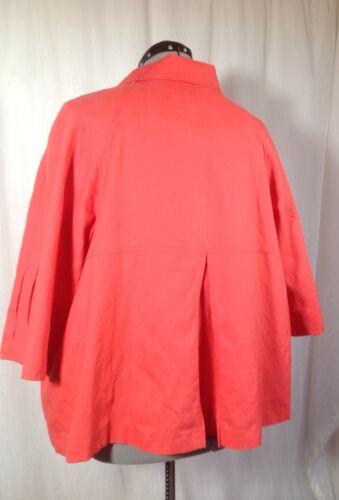 Style Bryant Foderato 28 4 Coral Lane Sleeve Swing 3 Jacket taglia qtfdxIIv