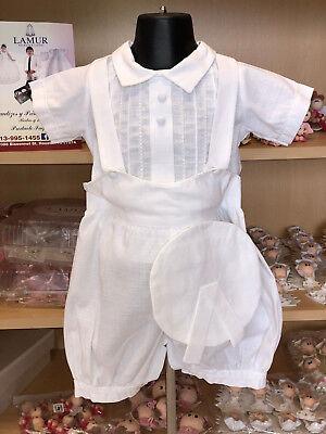 Boy Baptism Outfit//Traje de Bautizo para Nino P17//YKI-403
